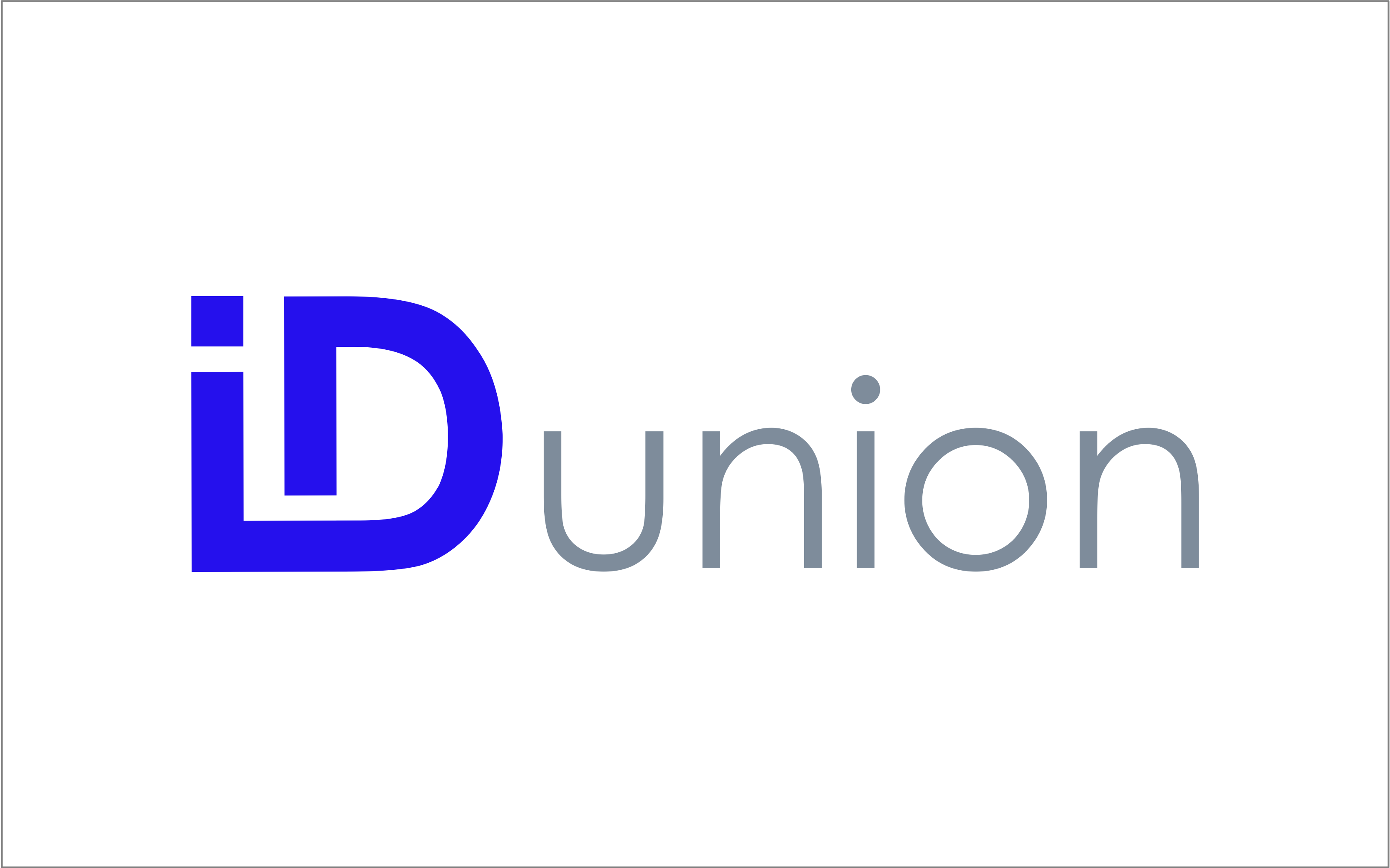 Project IDunion (2020 competition phase)